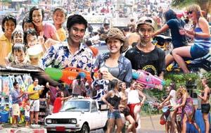 Songkran und ganz Thailand steht Kopf