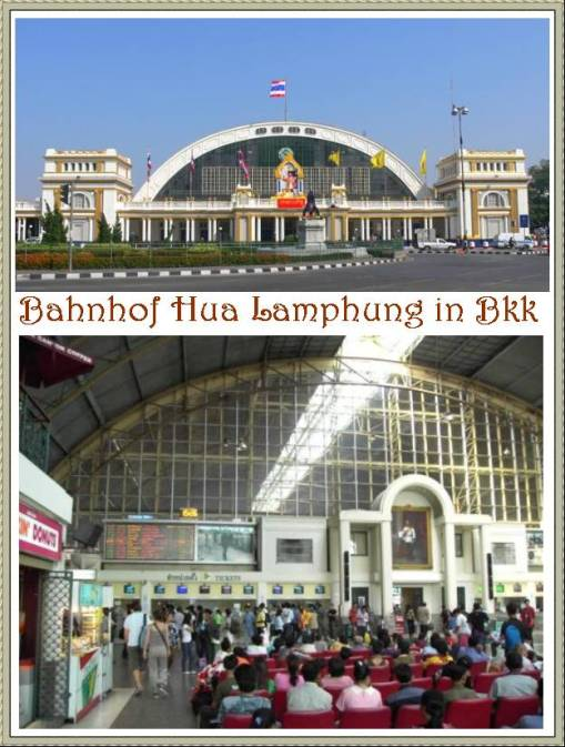 Bahnhof Hua Lamphung in Bangkok