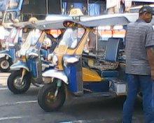 Tuk Tuks in Khon Kaen