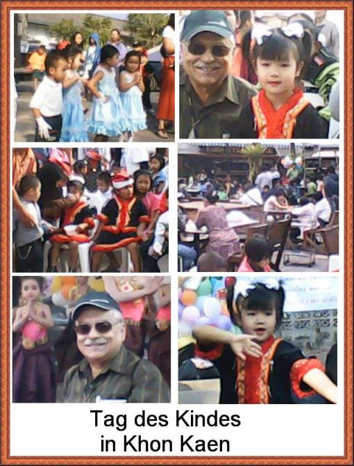 Kindertag in Khon Kaen