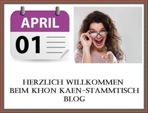 Willkommen April