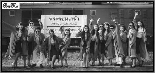 Charly Ankunft in Khon Kaen