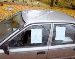 Selbstmord im Auto
